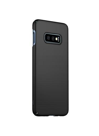 Microsonic Samsung Galaxy S10e Kılıf Premium Slim Siyah Siyah
